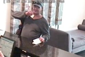 Tauranga police want to identify this man, who is accused of ripping off several hotels and tourists around Taupo and Tauranga.