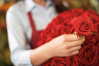 Red roses are always the most popular bloom on Valentine's Day. Photo / Thinkstock