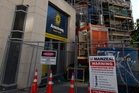 A Mainzeal associate supplied facade materials to work on Hobson Gardens. Photo / Brett Phibbs