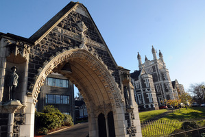 Otago Boys High School, Dunedin. Photo / Ross Setford