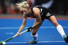 The Black Sticks Women have beaten Great Britain 1-0 today in their third game of the three nations tournament in San Diego. Photo / Getty Images.