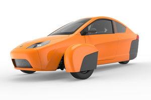 The Elio car. Photo / Elio Motors
