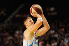 Gary Wilkinson of the Breakers shoots during the round 17 NBL match between the Sydney Kings and the New Zealand Breakers. Photo / Getty Images.