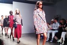 The finale of Karen Walker's revolutionary inspired New York Fashion Week show. Photo / Zoe Walker.