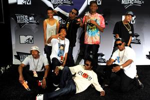 Odd Future at the 2011 MTV Music Awards. Photo / AP