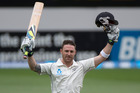 New Zealand Black Caps captain Brendon McCullum is expecting India to hit back hard when the second test starts at Wellington's Basin Reserve on Friday. Photo / Brett Phibbs