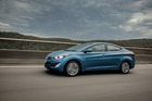 The Elantra has been tested and calibrated for our differing road surfaces.