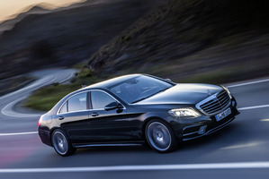 The popularity of the Mercedes S-Class contrasts with the general slump in passenger car sales.