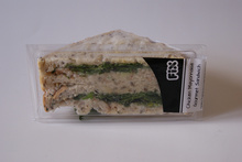 Caltex Fix's sandwich for David Linklater's service station sandwich challenge.