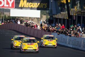 Abarth 695 Assetto Corse Fiat 500s have finished strongly in the 2014 Bathurst 12 Hour endurance race