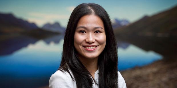 Jane Li is a translator for the World Civilisation Forum. Photo / Natalie Slade