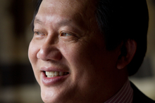 Commentator Arthur Lim. Photo / Richard Robinson