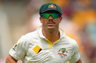 David Warner of Australia. Photo / Getty Images