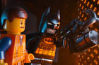 Emmet, voiced by Chris Pratt and Batman, voiced by Will Arnett, star in 'The Lego Movie'. Photo / AP