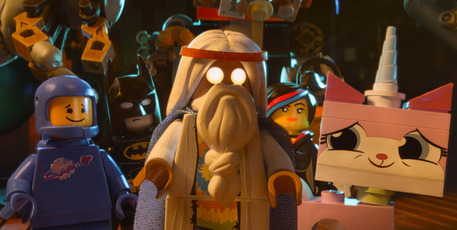 Vitruvius, voiced by Morgan Freeman in 'The Lego Movie'. Photo / AP