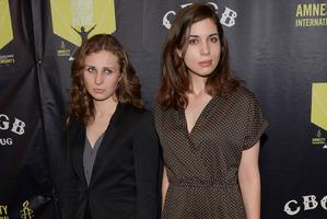 Members of Pussy Riot, Maria Alyoshina and Nadezhda Tolokonnikova. Photo / AP