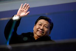 Xi Jinping wants to deflate China's credit bubble slowly. Photo / AP