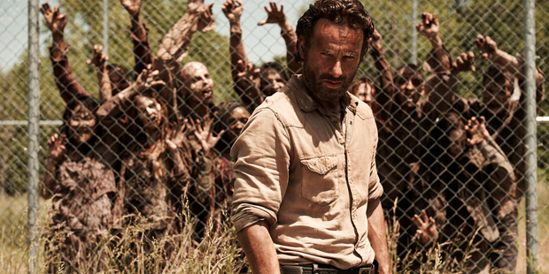 Andrew Lincoln stars in 'The Walking Dead'.