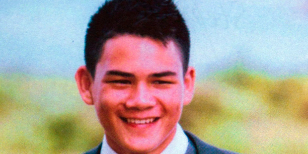 15-year-old Stephen Dudley, who died after he was involved in a fight after rugby training. Photo / supplied