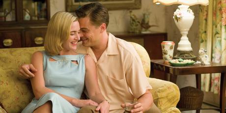 Kate Winslet and Leonardo DiCaprio in 'Revolutionary Road'.