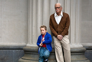 Johnny Knoxville plays Irving Zisman in Jackass Presents: Bad Grandpa.