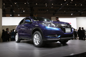 The Honda Vezel debuted at the Tokyo Motor Show in 2013.