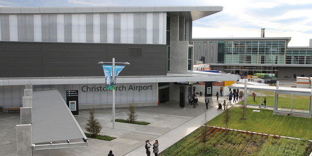 The new terminal at Christchurch International Airport. Photo / APN