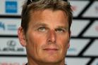 Team New Zealand skipper Dean Barker. Photo / NZ Herald