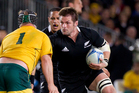 Richie McCaw played on Friday but will be missing in round one. Photo / Sarah Ivey