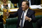 Prime Minister John Key says he will not support the bill becoming law until the tobacco industry's legal challenges are resolved. Photo / Mark Mitchell