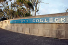 Rangitoto College. Photo / NZPA