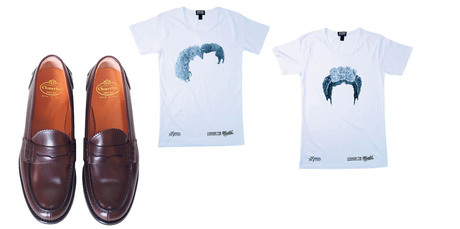 New loafers from Church's have just arrived at Scotties and World has released limited-edition t-shirts for the latest Shave for a Cure campaign. Photos / Supplied.