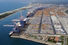 An aerial view of Gioia Tauro, the port in southern Italy which is a stronghold of 'Ndrangheta. Photo / AP