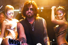 Billy Ray Cyrus as he appears in the new remix of his hit 1992 song Achy Breaky Heart. Photo/YouTube
