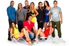 The GC stars: Zane Houia, Cole Smith, Jade Ruwhiu, Brooke James, Alby Waititi, Jade-Louise Dewson-Harawira, Tame Noema, (front l-r) DJ Tuini (Elyse Minhinnick), Nathan Waikato and Rosie Arkle.