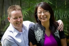 Anthony Marter and Susan Zhu will spend their first Valentine's Day apart in six years. Photo / Sarah Ivey