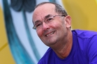 Cancer survivor Peter Harwood is again participating in this year's Relay for Life. Photo/Michael Cunningham