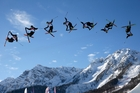 Slopestyle skiing has provided the wow factor at the Sochi Games. Photo / AP