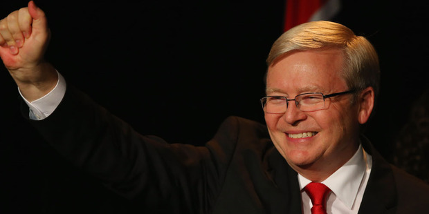 Former Prime Minister Kevin Rudd. Photo / Getty Images