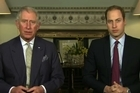 Britain's Prince Charles and Prince William made a father-and-son appeal on Sunday for an end to the illegal wildlife trade, ahead of a major international conference in London.
