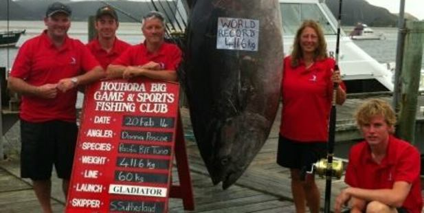NZ Woman Lands Potential World-Record Pacific Bluefin Tuna