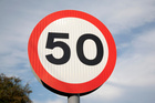 The speed limit of some places will change from 70km/h to 50km/h in a bid to make the roads safer. Photo/Thinkstock