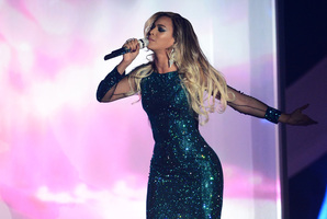Beyonce performs at The BRIT Awards 2014 at 02 Arena. Photo / Getty Images