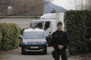 French police have detained a local man in connection with the murders of four people  in 2012. Photo / AP