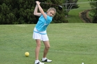 Opotiki golfer Tyla Kingi's performance at the LawnMaster Classic hints at big things to come. Photo/File