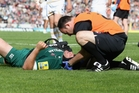 Concussion has been the most common injury in English Premiership games for the past two seasons. Photo / Getty Images
