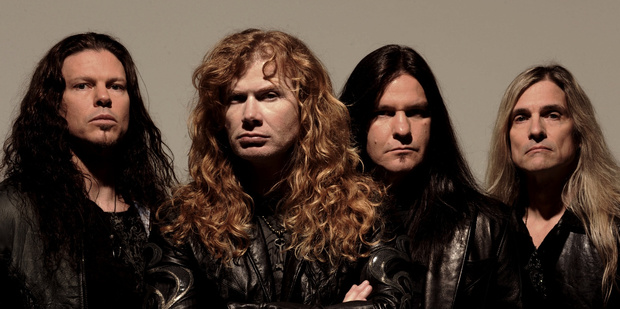 Megadeth are one of the headlining acts at tonight's Westfest show.