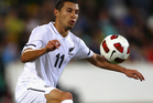 Kosta Barbarouses has thrown a spanner in the works of Melbourne Victory's nightmare A-League finals run-in by accepting a New Zealand call up next month. Photo / Getty Images.