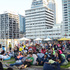 The Festival included movies and stalls on the Queens Wharf. Photo / Parisa Taghizadeh