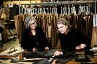 Zambesi co-founder Liz Findlay with designer Dayne Johnston at the label's Auckland headquarters.  Photo / Babiche Martens.